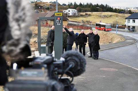 Busskur på Færøerne